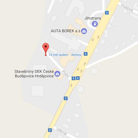 Polní ul., Borek- Hrdějovice